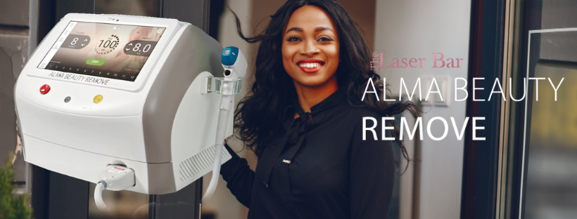 The Laser Bar, effective laser hair removal for all skin tones. Laser hair removal for darl skin with The Laser Bar using Alma Lasers Diode technology.